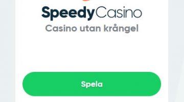 Visste du detta om Speedy Casino?