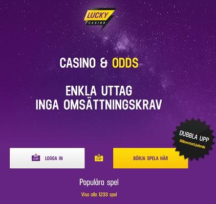 Ta del av spänningen nu hos Lucky Casino!