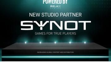 SYNOT Games sluter avtal med Relax Gaming