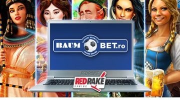 Red Rake Gaming casinospel debuterar på Baumbet.ro!